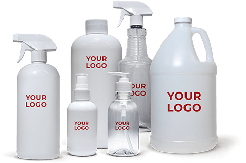 Private White label cleaning products