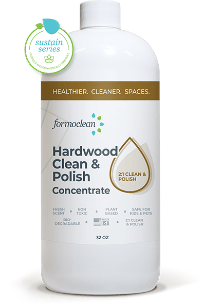 Concentrated eco friendly hardwood floor cleaner
